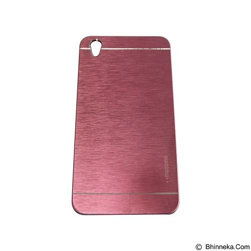 MOTOMO Metal Hardcase for Oppo F1 Plus - Pink (Merchant) - Casing Handphone / Case