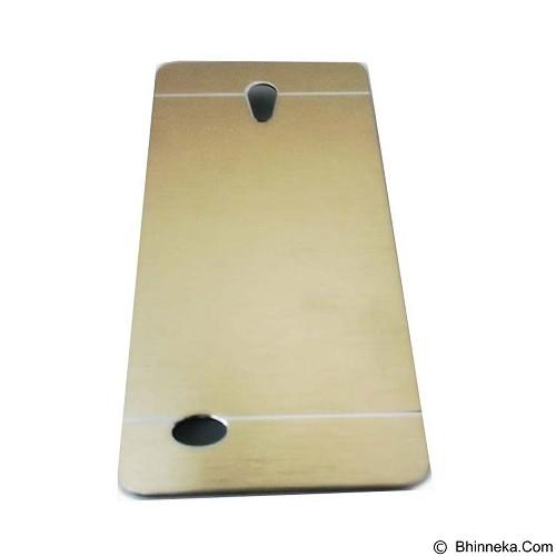MOTOMO Metal Hardcase for Oppo Joy3 - Gold (Merchant) - Casing Handphone / Case