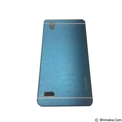 MOTOMO Metal Hardcase for Oppo Mirror 5 - Dark Blue (Merchant) - Casing Handphone / Case