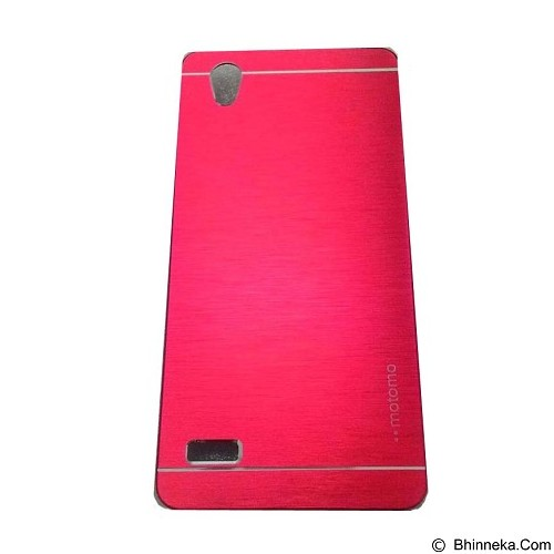 MOTOMO Metal Hardcase for Oppo Mirror 5 - Red (Merchant) - Casing Handphone / Case