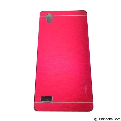 MOTOMO Metal Hardcase for Oppo Mirror 5 - Red (Merchant) - Casing Handphone / Case