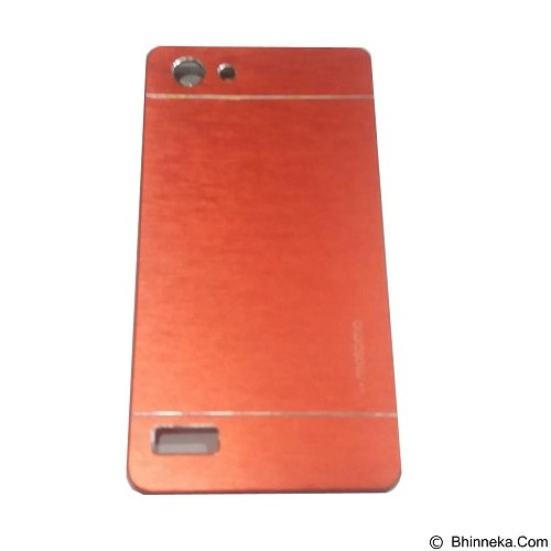 MOTOMO Metal Hardcase for Oppo Neo 7 - Red (Merchant) - Casing Handphone / Case