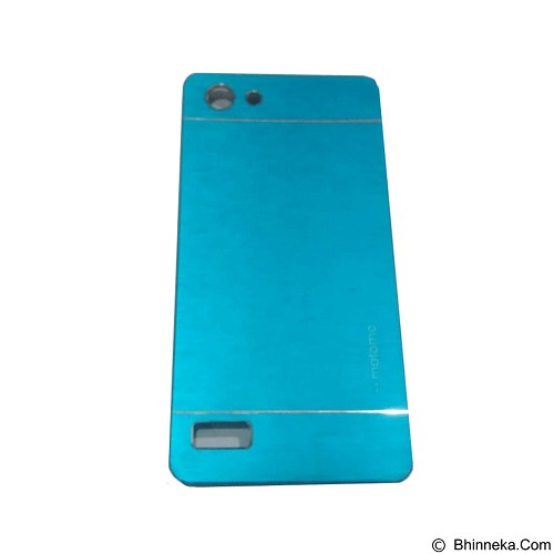 MOTOMO Metal Hardcase for Oppo Neo 7 - Soft Blue (Merchant) - Casing Handphone / Case