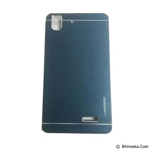 MOTOMO Metal Hardcase for Oppo R7 - Dark Blue (Merchant) - Casing Handphone / Case