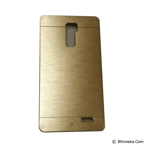 MOTOMO Metal Hardcase for Oppo R7 Plus - Gold (Merchant) - Casing Handphone / Case