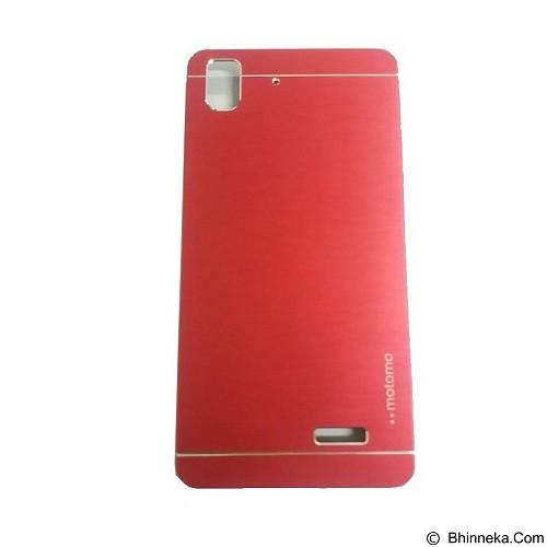 MOTOMO Metal Hardcase for Oppo R7 - Red (Merchant) - Casing Handphone / Case