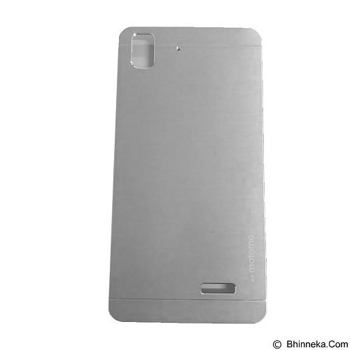 MOTOMO Metal Hardcase for Oppo R7 - Silver (Merchant) - Casing Handphone / Case