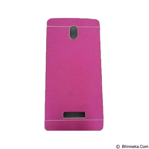 MOTOMO Metal Hardcase for Oppo Yoyo - Pink (Merchant) - Casing Handphone / Case