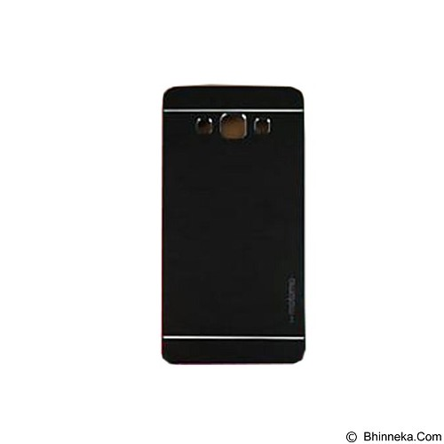 MOTOMO Metal Hardcase for Samsung Galaxy A3 - Black (Merchant) - Casing Handphone / Case