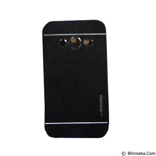 MOTOMO Metal Hardcase for Samsung Galaxy Ace 4 - Black (Merchant) - Casing Handphone / Case