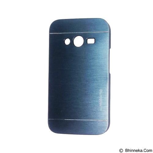 MOTOMO Metal Hardcase for Samsung Galaxy Ace 4 - Dark Blue (Merchant) - Casing Handphone / Case