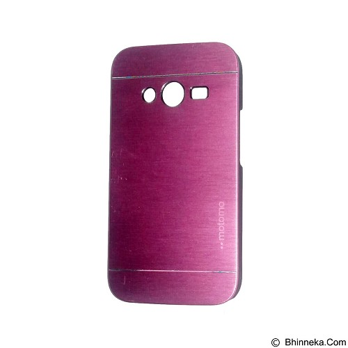 MOTOMO Metal Hardcase for Samsung Galaxy Ace 4 - Pink (Merchant) - Casing Handphone / Case