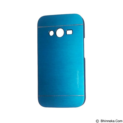 MOTOMO Metal Hardcase for Samsung Galaxy Ace 4 - Soft Blue (Merchant) - Casing Handphone / Case
