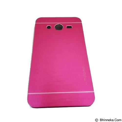 MOTOMO Metal Hardcase for Samsung Galaxy Core 2 - Pink (Merchant) - Casing Handphone / Case