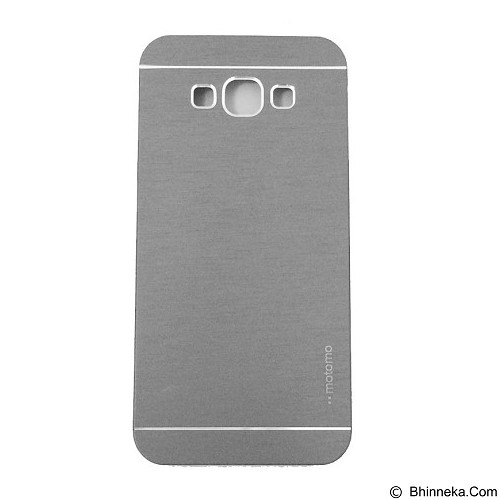MOTOMO Metal Hardcase for Samsung Galaxy E5 - Silver (Merchant) - Casing Handphone / Case