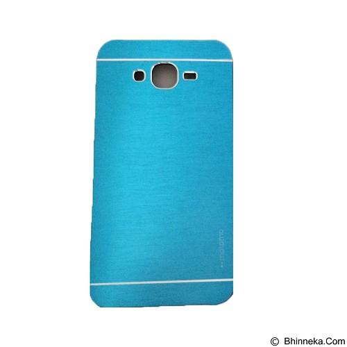 MOTOMO Metal Hardcase for Samsung Galaxy E5 - Soft Blue (Merchant) - Casing Handphone / Case