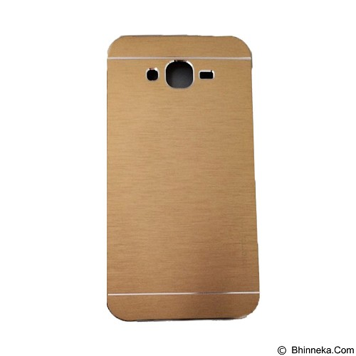 MOTOMO Metal Hardcase for Samsung Galaxy E7 - Gold (Merchant) - Casing Handphone / Case