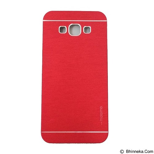 MOTOMO Metal Hardcase for Samsung Galaxy E7 - Red (Merchant) - Casing Handphone / Case