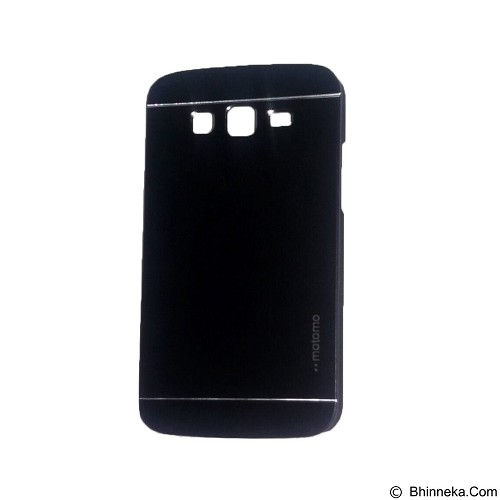 MOTOMO Metal Hardcase for Samsung Galaxy Grand 2 - Black (Merchant) - Casing Handphone / Case