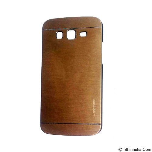 MOTOMO Metal Hardcase for Samsung Galaxy Grand 2 - Gold (Merchant) - Casing Handphone / Case