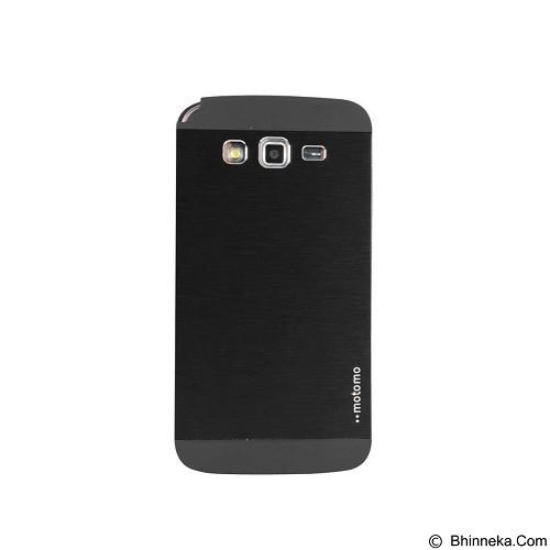 MOTOMO Metal Hardcase for Samsung Galaxy Grand Prime - Black (Merchant) - Casing Handphone / Case