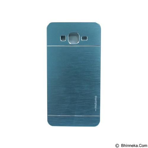 MOTOMO Metal Hardcase for Samsung Galaxy Grand Prime - Blue (Merchant) - Casing Handphone / Case