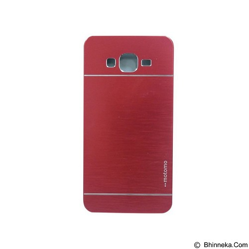 MOTOMO Metal Hardcase for Samsung Galaxy Grand Prime - Red (Merchant) - Casing Handphone / Case