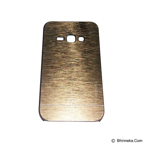 MOTOMO Metal Hardcase for Samsung Galaxy J1 (2016) - Gold (Merchant) - Casing Handphone / Case