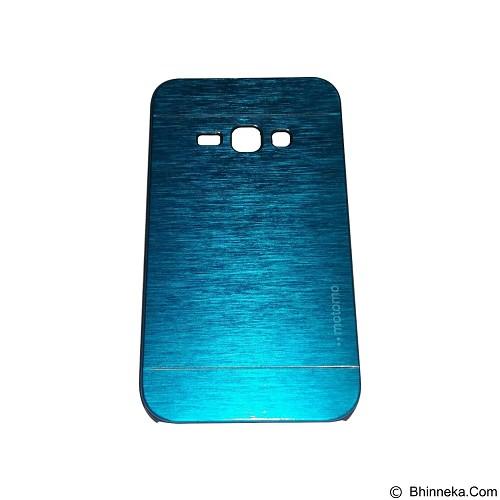 MOTOMO Metal Hardcase for Samsung Galaxy J1 (2016) - Soft Blue (Merchant) - Casing Handphone / Case