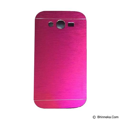 MOTOMO Metal Hardcase for Samsung Galaxy J1 Ace - Pink (Merchant) - Casing Handphone / Case