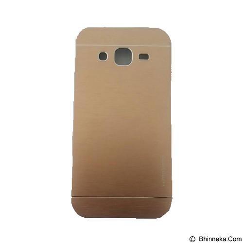 MOTOMO Metal Hardcase for Samsung Galaxy J2 - Gold (Merchant) - Casing Handphone / Case