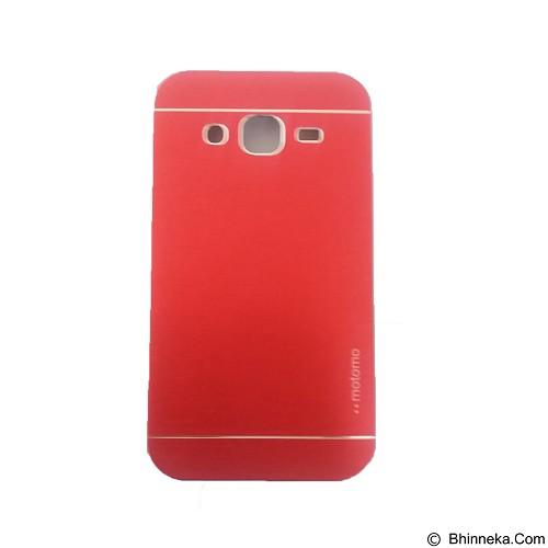 MOTOMO Metal Hardcase for Samsung Galaxy J2 - Red (Merchant) - Casing Handphone / Case