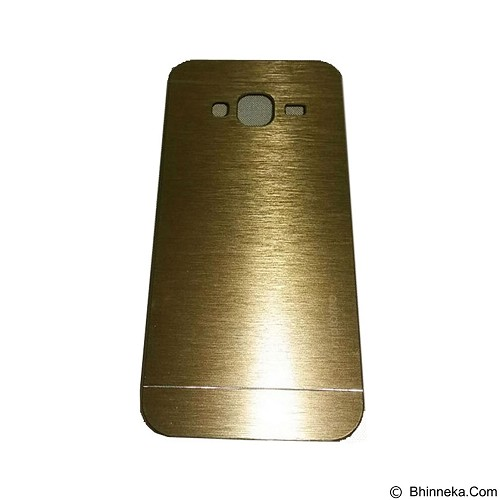 MOTOMO Metal Hardcase for Samsung Galaxy J3 - Gold (Merchant) - Casing Handphone / Case