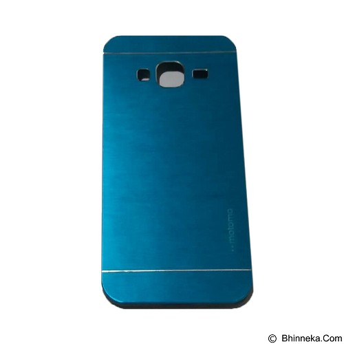 MOTOMO Metal Hardcase for Samsung Galaxy J3 - Soft Blue (Merchant) - Casing Handphone / Case