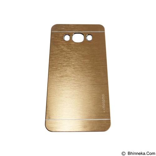 MOTOMO Metal Hardcase for Samsung Galaxy J5 (2016) - Gold (Merchant) - Casing Handphone / Case