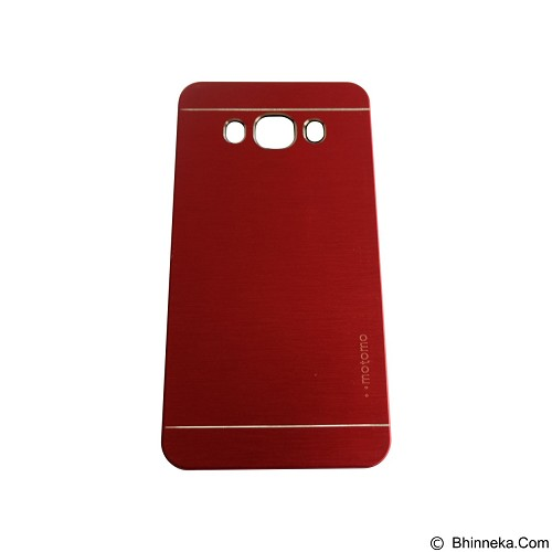 MOTOMO Metal Hardcase for Samsung Galaxy J7 (2016) - Red (Merchant) - Casing Handphone / Case