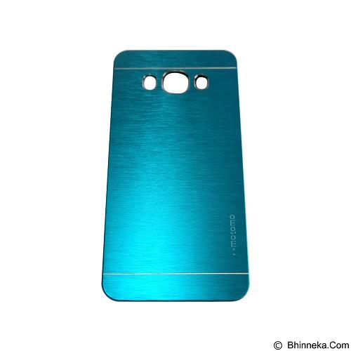 MOTOMO Metal Hardcase for Samsung Galaxy J7 (2016) - Soft Blue (Merchant) - Casing Handphone / Case