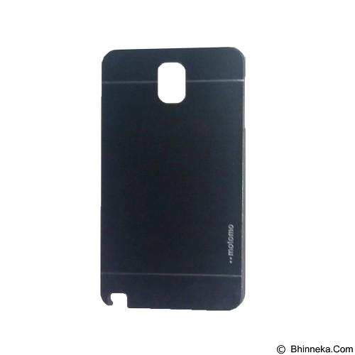 MOTOMO Metal Hardcase for Samsung Galaxy Note 3 - Dark Blue (Merchant) - Casing Handphone / Case