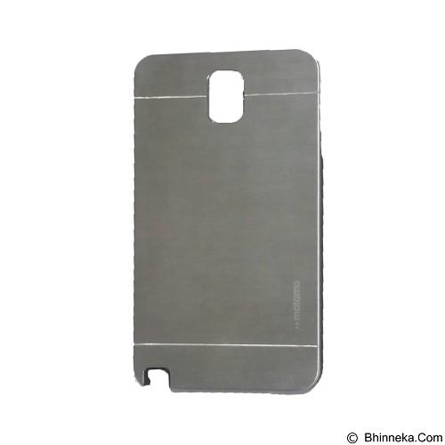 MOTOMO Metal Hardcase for Samsung Galaxy Note 3 - Silver (Merchant) - Casing Handphone / Case
