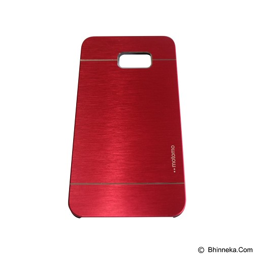 MOTOMO Metal Hardcase for Samsung Galaxy Note 5 Edge - Red (Merchant) - Casing Handphone / Case