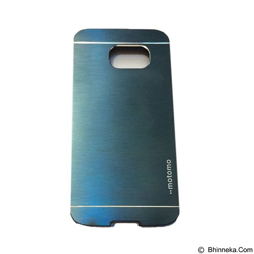 MOTOMO Metal Hardcase for Samsung Galaxy S6 - Dark Blue (Merchant) - Casing Handphone / Case