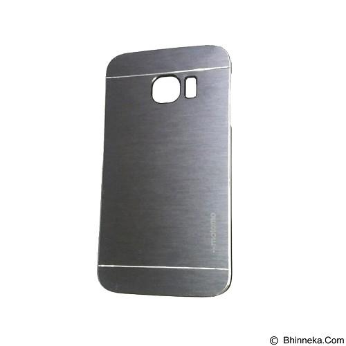 MOTOMO Metal Hardcase for Samsung Galaxy S6 Edge - Silver (Merchant) - Casing Handphone / Case