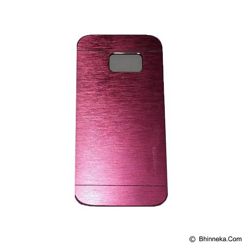 MOTOMO Metal Hardcase for Samsung Galaxy S7 - Pink (Merchant) - Casing Handphone / Case