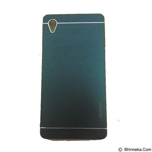 MOTOMO Metal Hardcase for Sony Xperia M4 - Dark Blue (Merchant) - Casing Handphone / Case