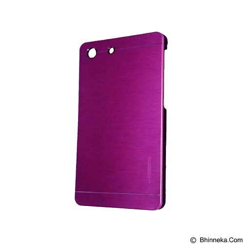 MOTOMO Metal Hardcase for Sony Xperia M5 - Pink (Merchant) - Casing Handphone / Case