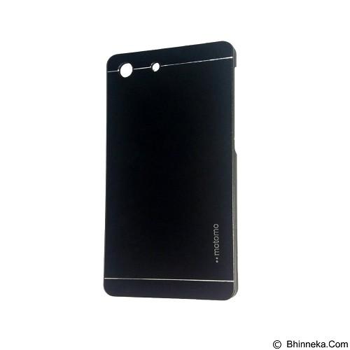 MOTOMO Metal Hardcase for Sony Xperia M5 - Black (Merchant) - Casing Handphone / Case