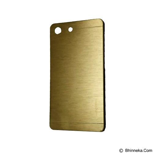 MOTOMO Metal Hardcase for Sony Xperia M5 - Gold (Merchant) - Casing Handphone / Case