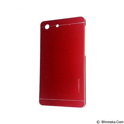 MOTOMO Metal Hardcase for Sony Xperia M5 - Red (Merchant) - Casing Handphone / Case