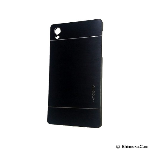 MOTOMO Metal Hardcase for Sony Xperia Z5 - Black (Merchant) - Casing Handphone / Case