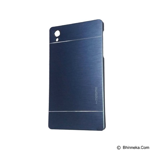 MOTOMO Metal Hardcase for Sony Xperia Z5 - Dark Blue (Merchant) - Casing Handphone / Case